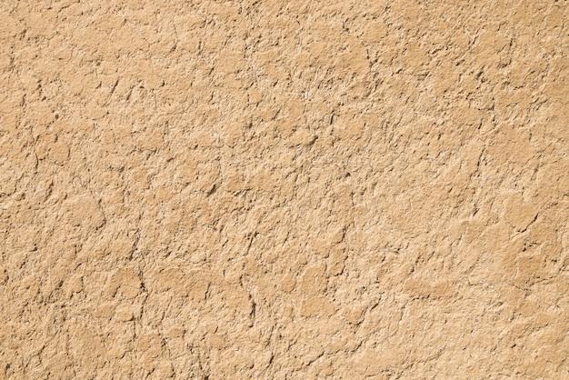 Глиняная текстура. глина и соломенная стена. глиняная и соломенная штукатурка Premium Фотографии