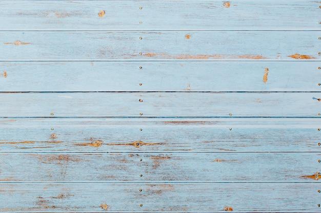 柔らかい青い木製の背景 無料写真