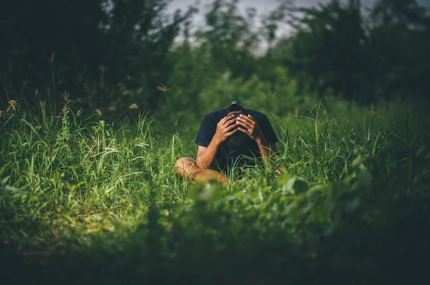 Прекратить насилие в отношении детей и холостяцкой жизни концепция Premium Фотографии