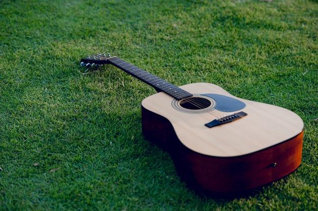 ギター楽器プロのギタリストの Premium写真