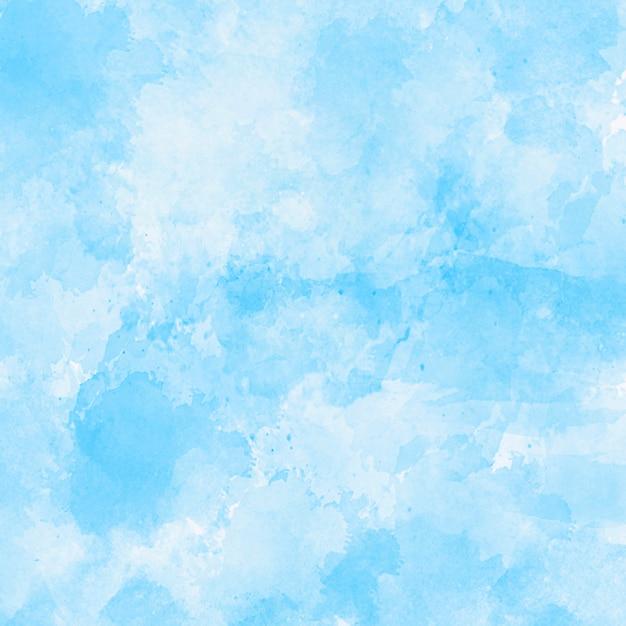 Синяя акварель текстуру фона Бесплатные Фотографии