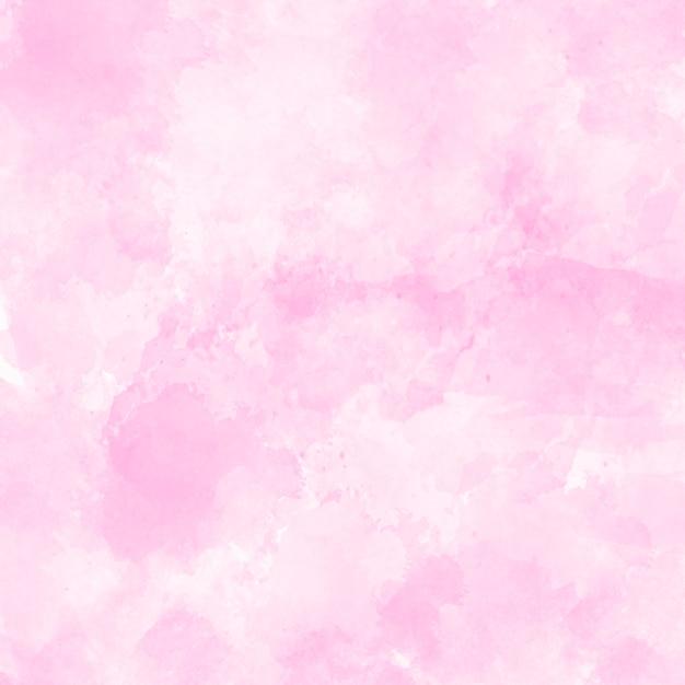 ピンクの水彩画のテクスチャ背景 無料写真