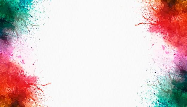 Акварель всплеск на белом фоне Бесплатные Фотографии
