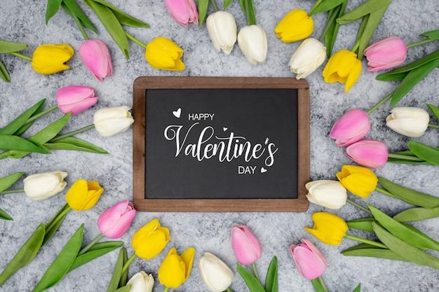 素敵なバレンタイン 無料写真