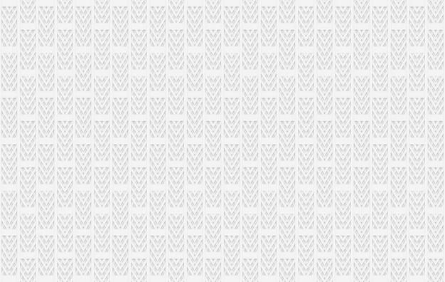 シームレスなモダンなグレーのレンガブロックのファサードデザインテクスチャ壁の背景。 Premium写真