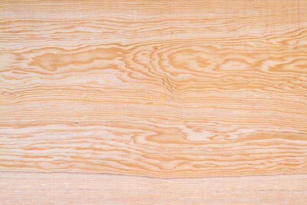 自然な縞模様の背景を持つ茶色木目テクスチャ Premium写真