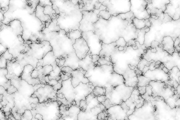 抽象的な白い大理石の縞模様の表面の背景テクスチャ Premium写真