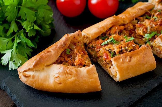 Традиционная турецкая кухня с говядиной и овощами Бесплатные Фотографии