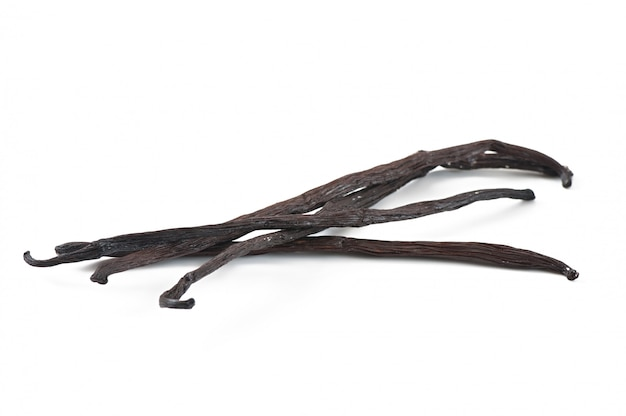 Палочки ванили изолированные Бесплатные Фотографии