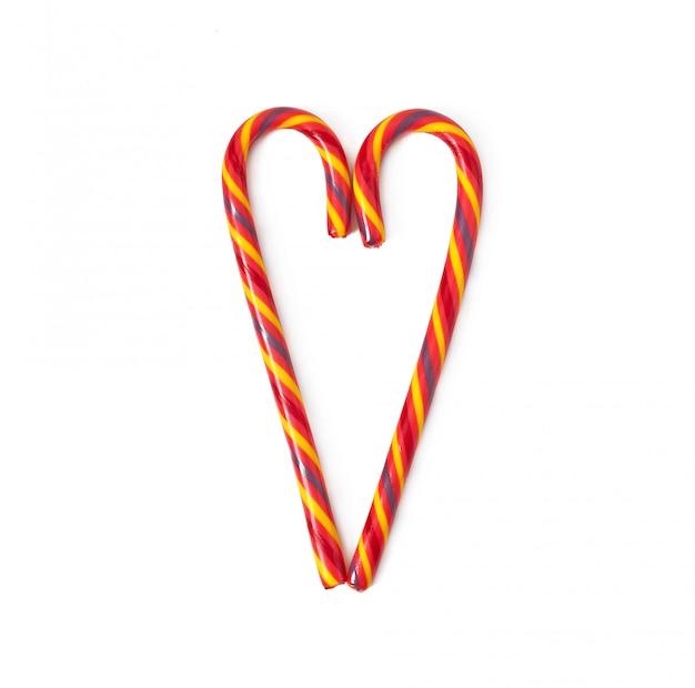 クリスマスキャンデー杖 無料写真