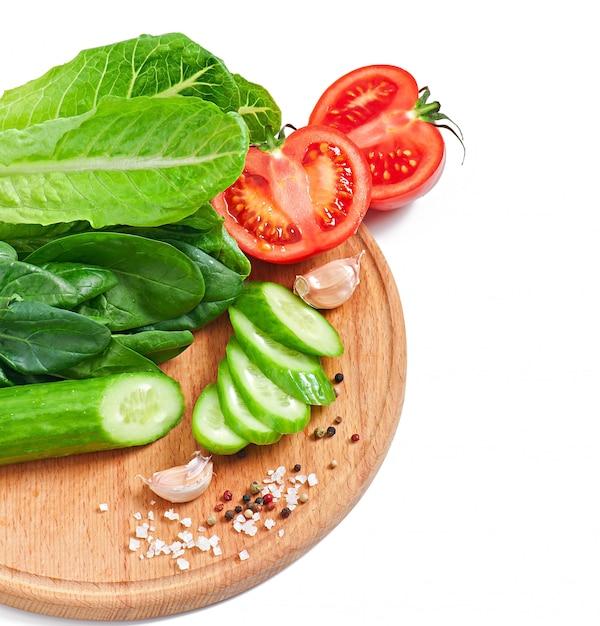 白の新鮮な野菜 無料写真