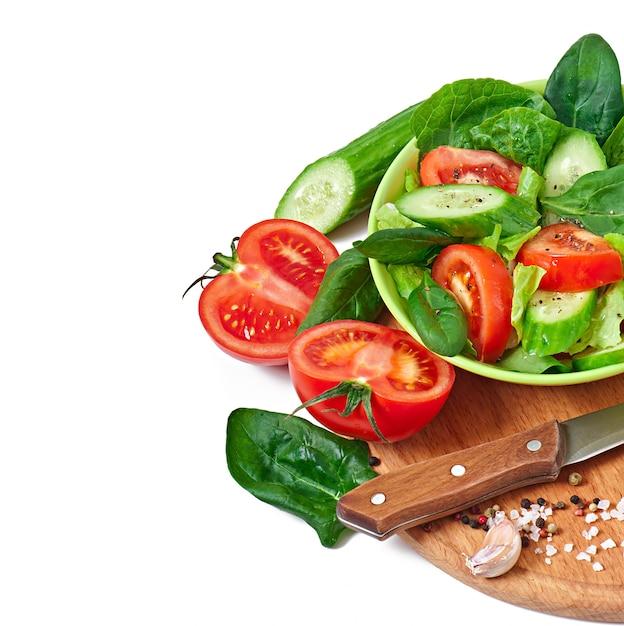 Свежие овощи на белом Бесплатные Фотографии