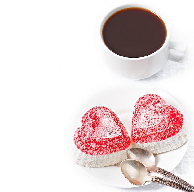 Мармелад в форме сердца Бесплатные Фотографии