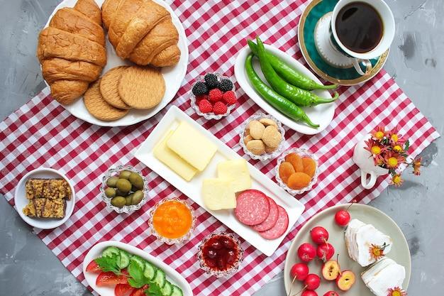 トルコ式朝食 Premium写真