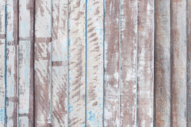 塗装や傷の古い木の板パターンから抽象的な背景。 Premium写真