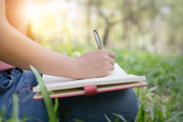 詩、詩、そして知識教育の概念 Premium写真