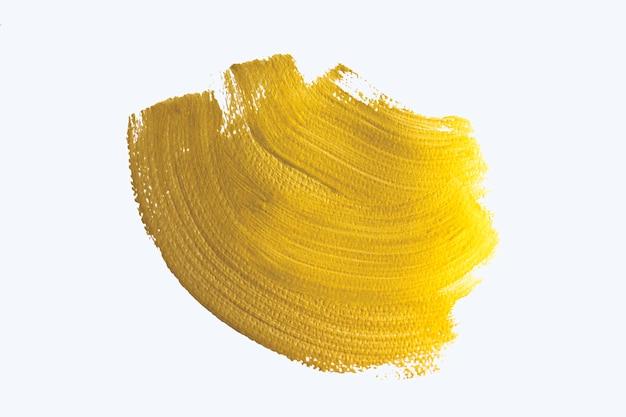 Золотой абстрактный фон акварелью. Premium Фотографии