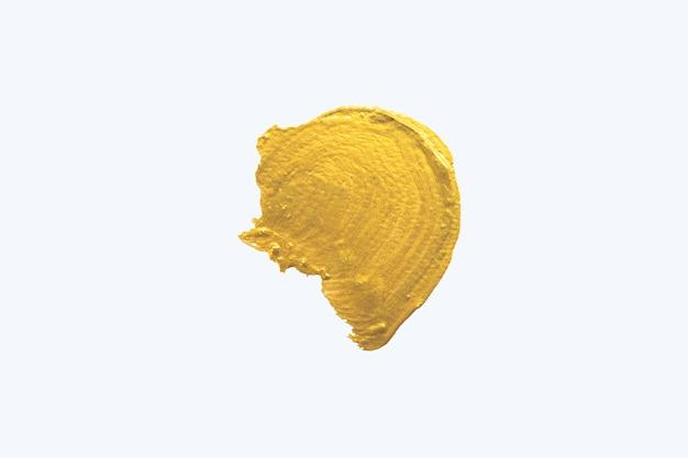 ゴールドの抽象的な水彩画の背景。 Premium写真