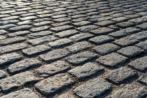 石畳の道 Premium写真