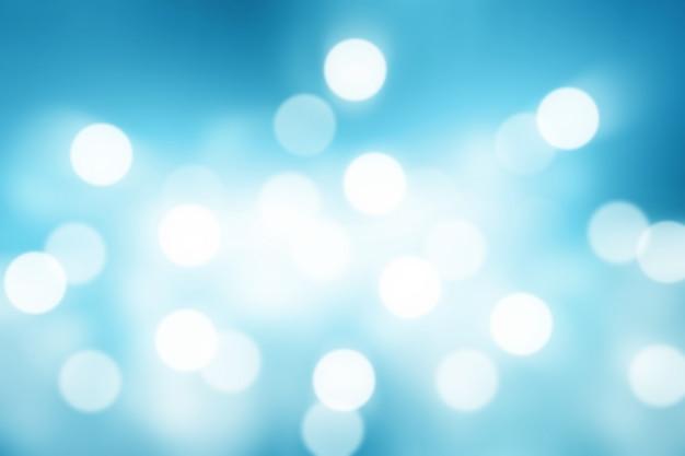 青のグラデーションの背景または壁紙のボケ抽象 Premium写真