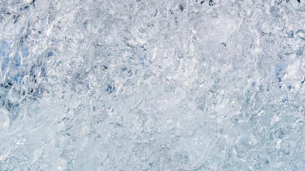 アイスランドの氷の背景 Premium写真