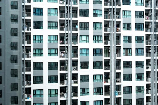 香港の近代的な高層ビル Premium写真