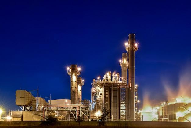 発電所 Premium写真