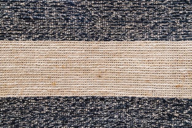 自然なサイザル織りの混合表面、テクスチャ、色の背景 Premium写真
