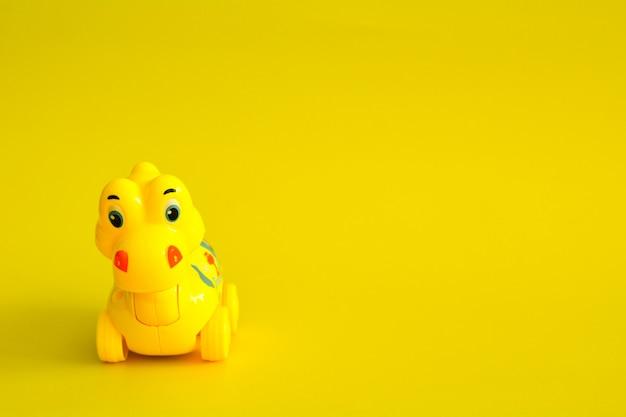Игрушка динозавра Premium Фотографии