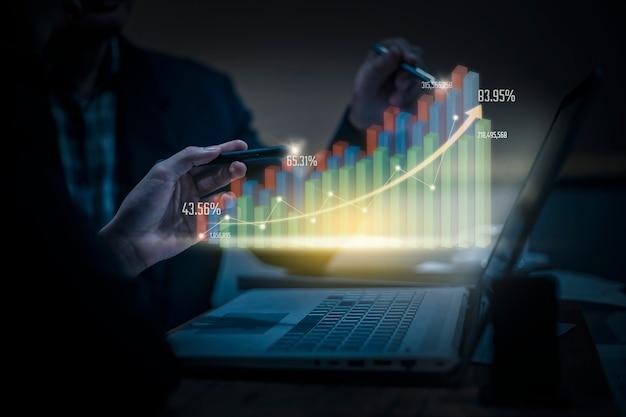デジタルマーケティングの仮想現実技術 Premium写真