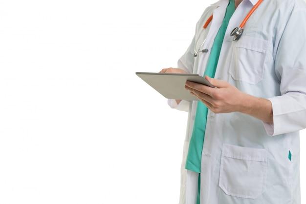 タブレットを使用して医師 Premium写真