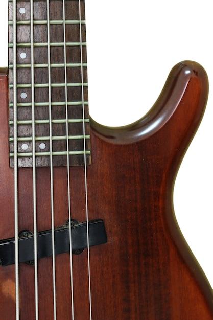 ヴィンテージベースエレクトリックギター Premium写真