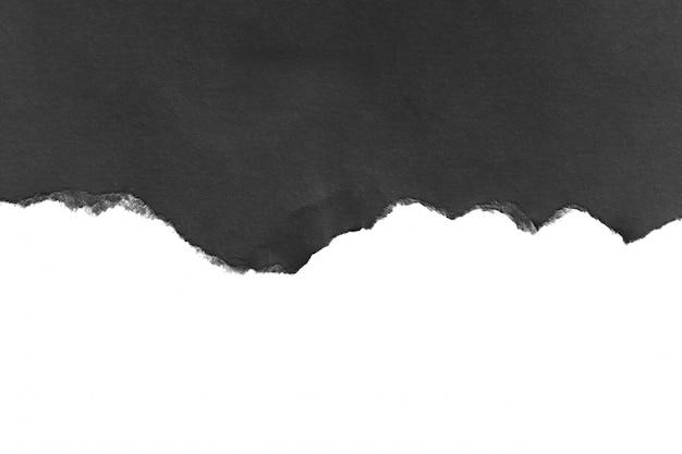 破れた紙のテクスチャの部分、コピースペース。 Premium写真