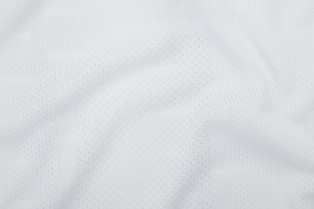 白い布のテクスチャ、布パターン背景。 Premium写真