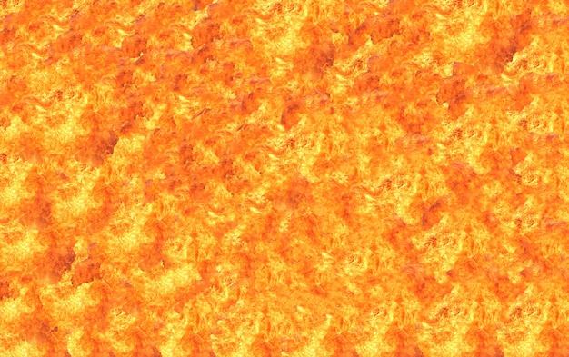 火の炎のテクスチャ背景 Premium写真