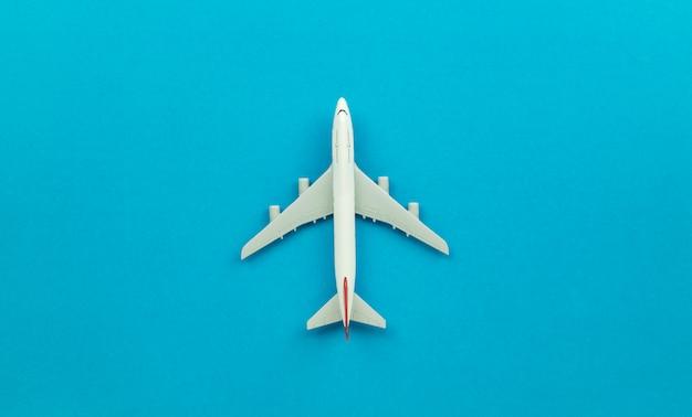Модель самолета сверху Premium Фотографии