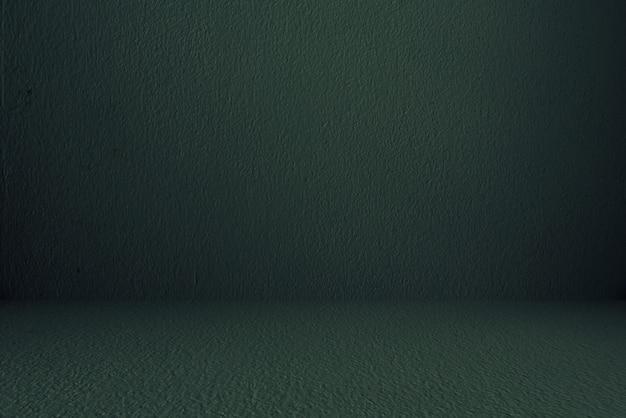 Стеновые и напольные бетонные, темно-зеленые, комнатные, интерьерные, для демонстрации продукции Premium Фотографии