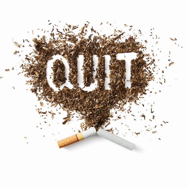 喫煙をやめる Premium写真