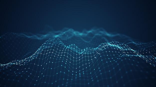 Технология цифровой волны. Premium Фотографии