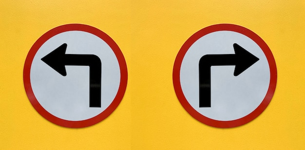 白で隔離される矢印記号 Premium写真
