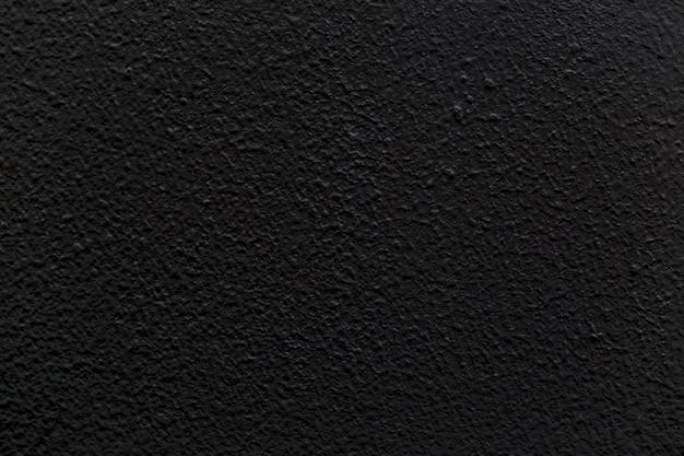 背景画像の黒い空白のコンクリート壁。 Premium写真