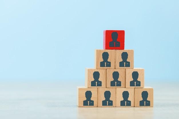 人的資源管理および採用ビジネスコンセプト。 Premium写真