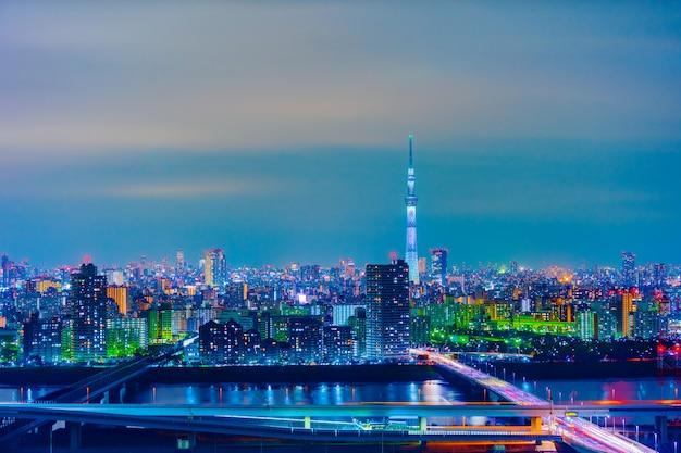 東京の街並み、日本 Premium写真