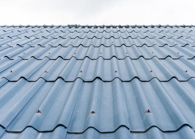 Плитка крыши фон Premium Фотографии
