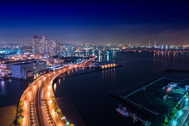 夜景横浜ベイ Premium写真