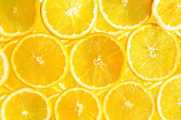 健康食品、背景。オレンジ Premium写真