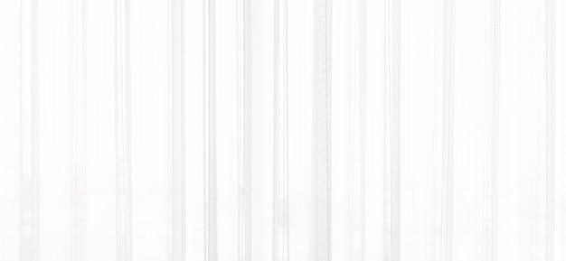 白いカーテンの背景 Premium写真