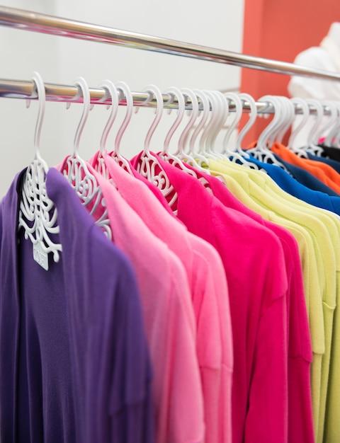 カラフルシャツ Premium写真