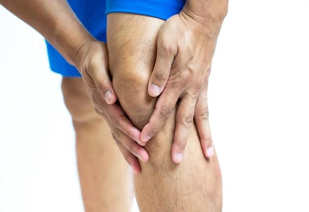痛み、スポーツの腫れ Premium写真