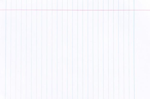 ノート罫紙テクスチャ背景 Premium写真